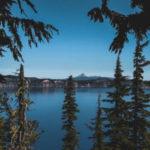 Oregon lake view