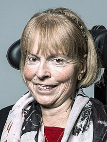 The Baroness Campbell of Surbiton